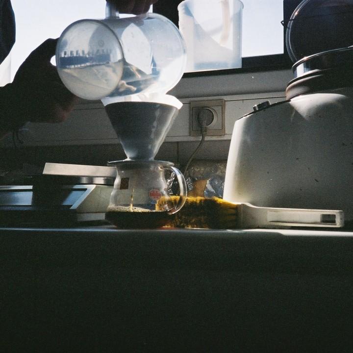 Annelies Hermsen @ Puro coffee Turnhout Belgium
