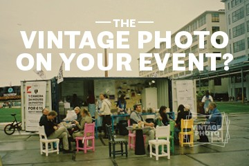 Vintage Photo on your event!