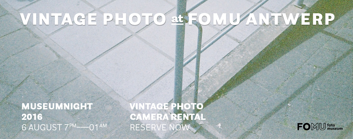The Vintage Photo at FOMU Antwerp