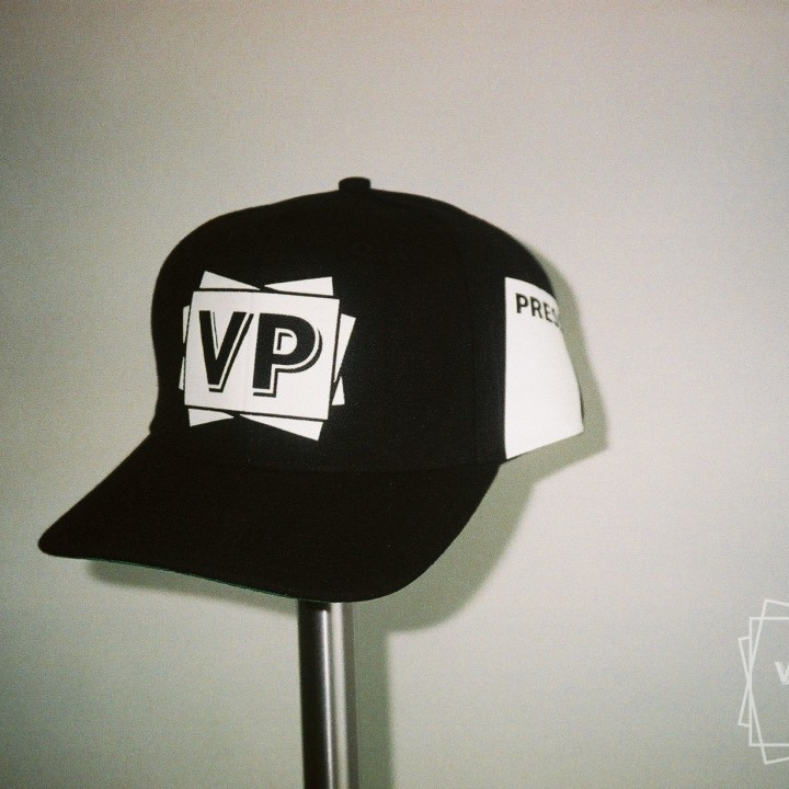 VP baseball / trucker cap PRESS black